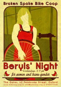 Beryls' Night flyer