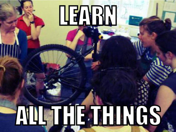 learn all the things meme