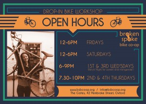 Broken Spoke Bike Coop hours