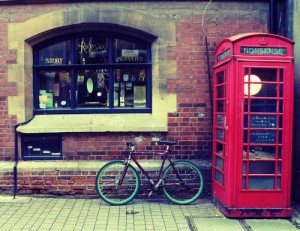 Outside the Story Museum, Oxford