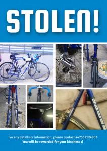 Stolen bike!
