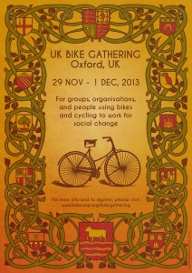 UK Bike Gathering 2013, by Cassiope Sydoriak