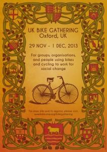 UK Bike Gathering 2013, by Cassiope Sydoriak