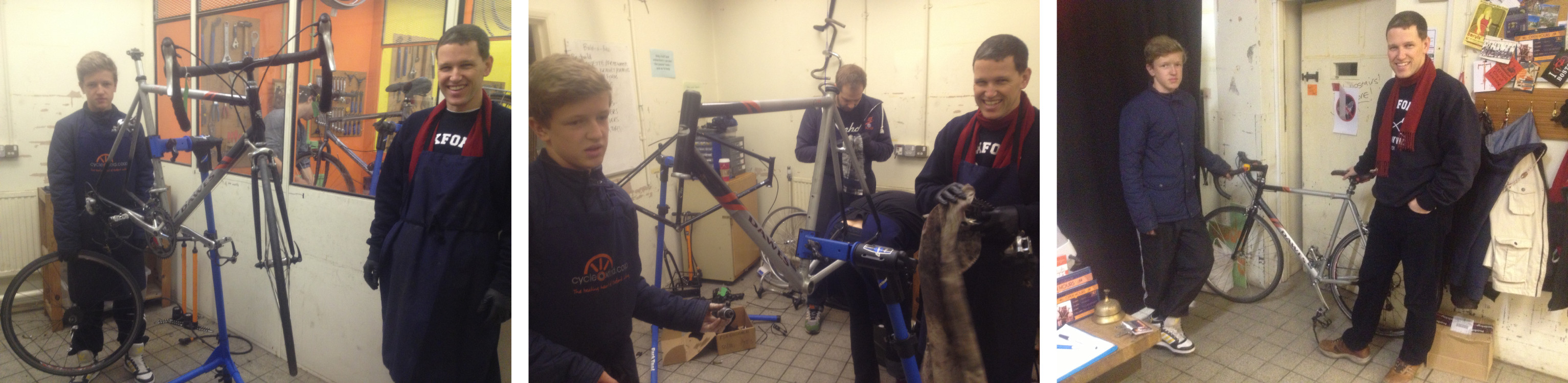 Elija and Dan build a bike