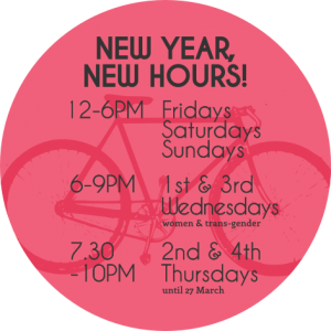 New Year, New Hours
