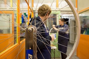 Broken Spoke Wheel Building
