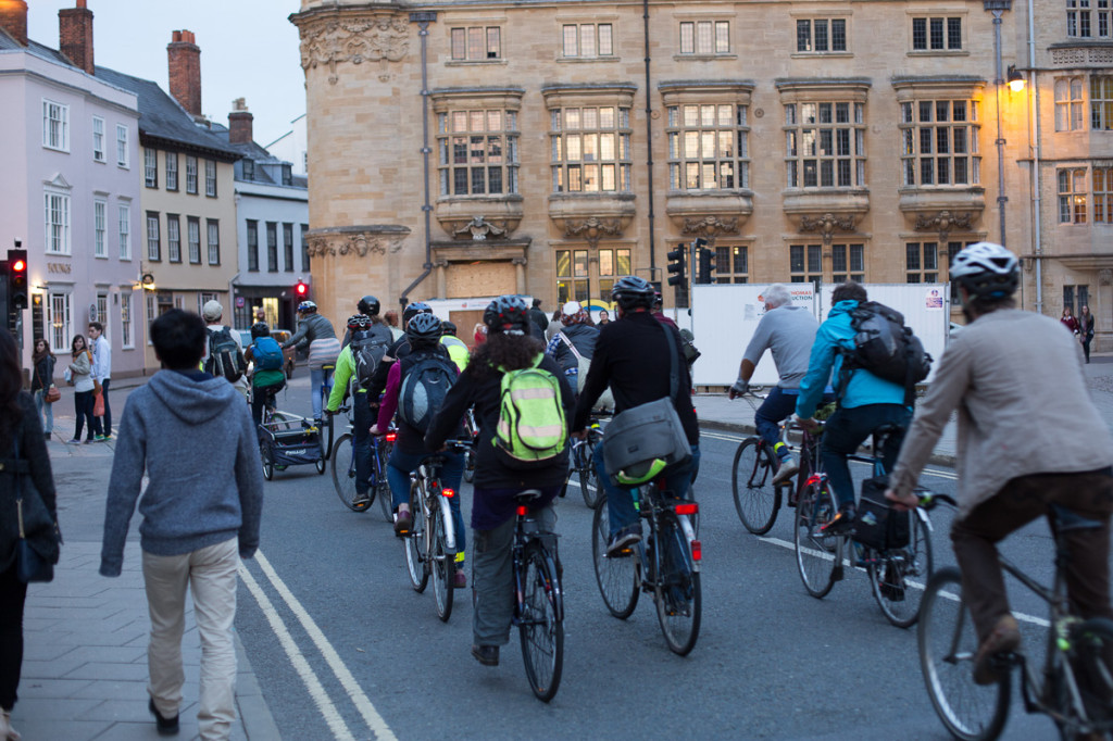 Critical Mass in Oxford UK
