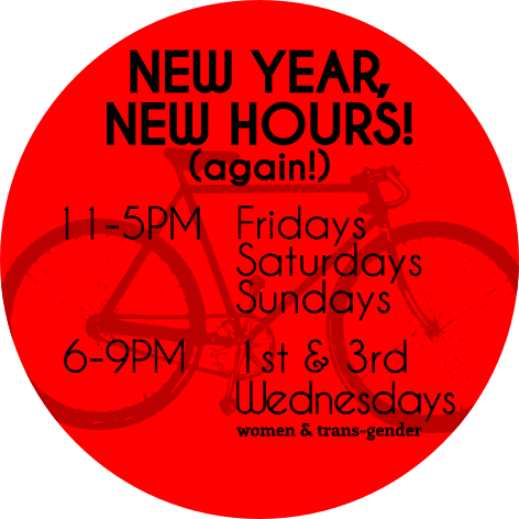 New hours (again)!