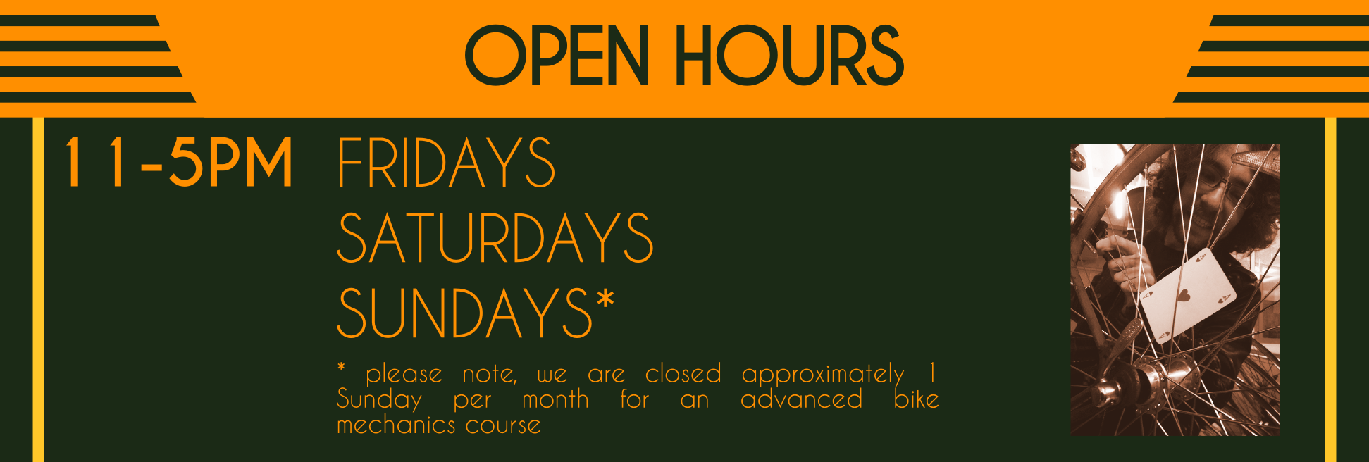 New hours 2014