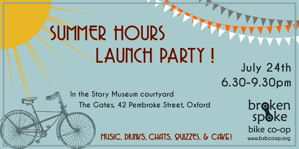 Launch Party flyer
