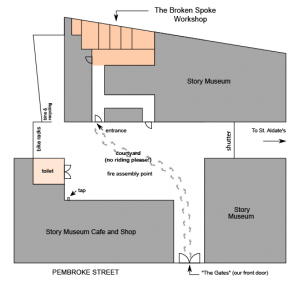 Story Museum Site Layout