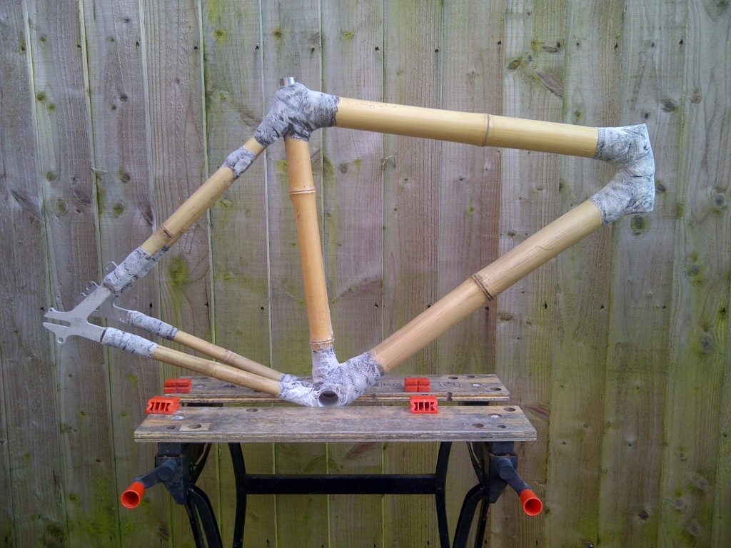 Bamboo frame preparation