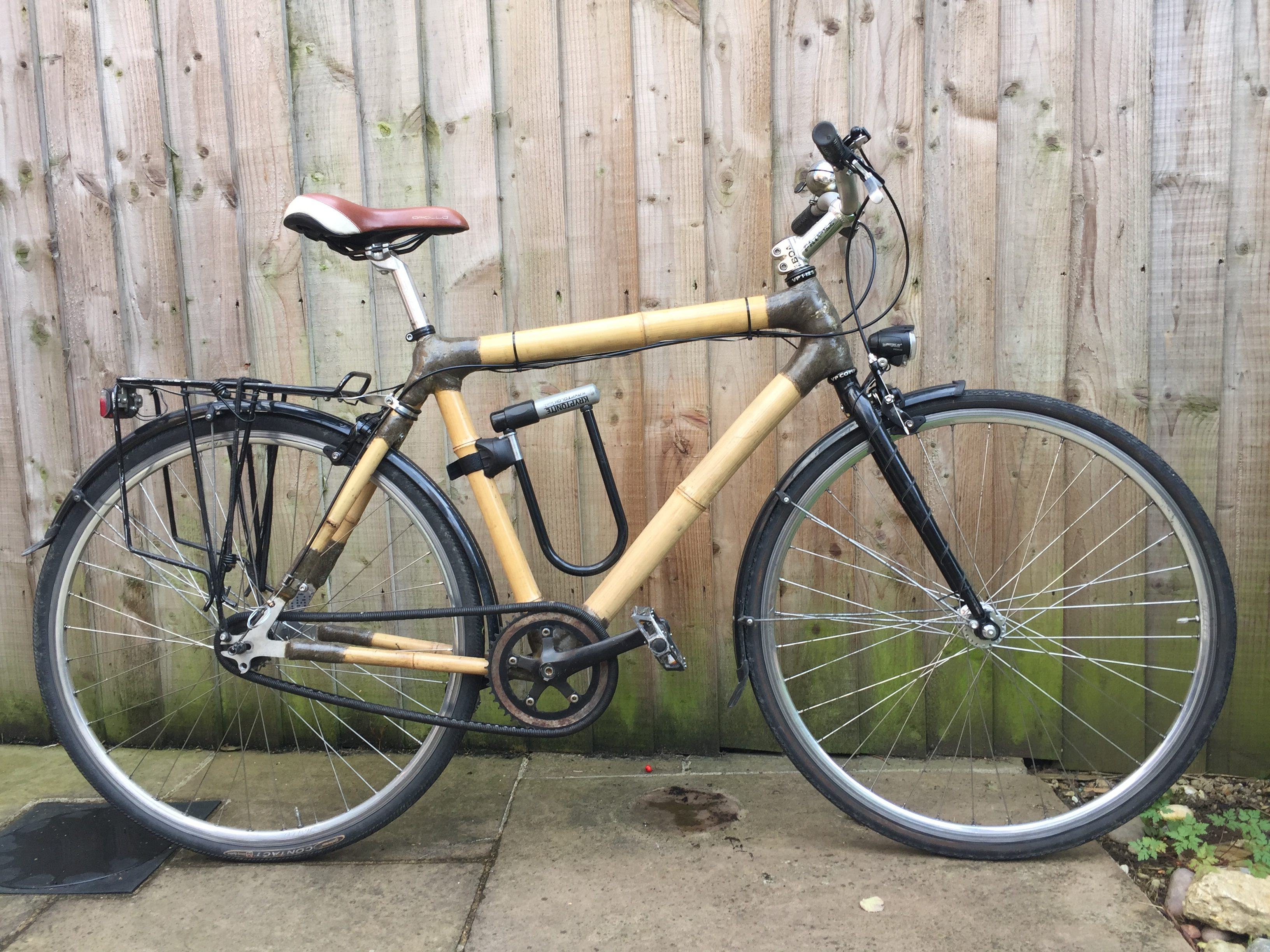 Completed Bamboo Bike